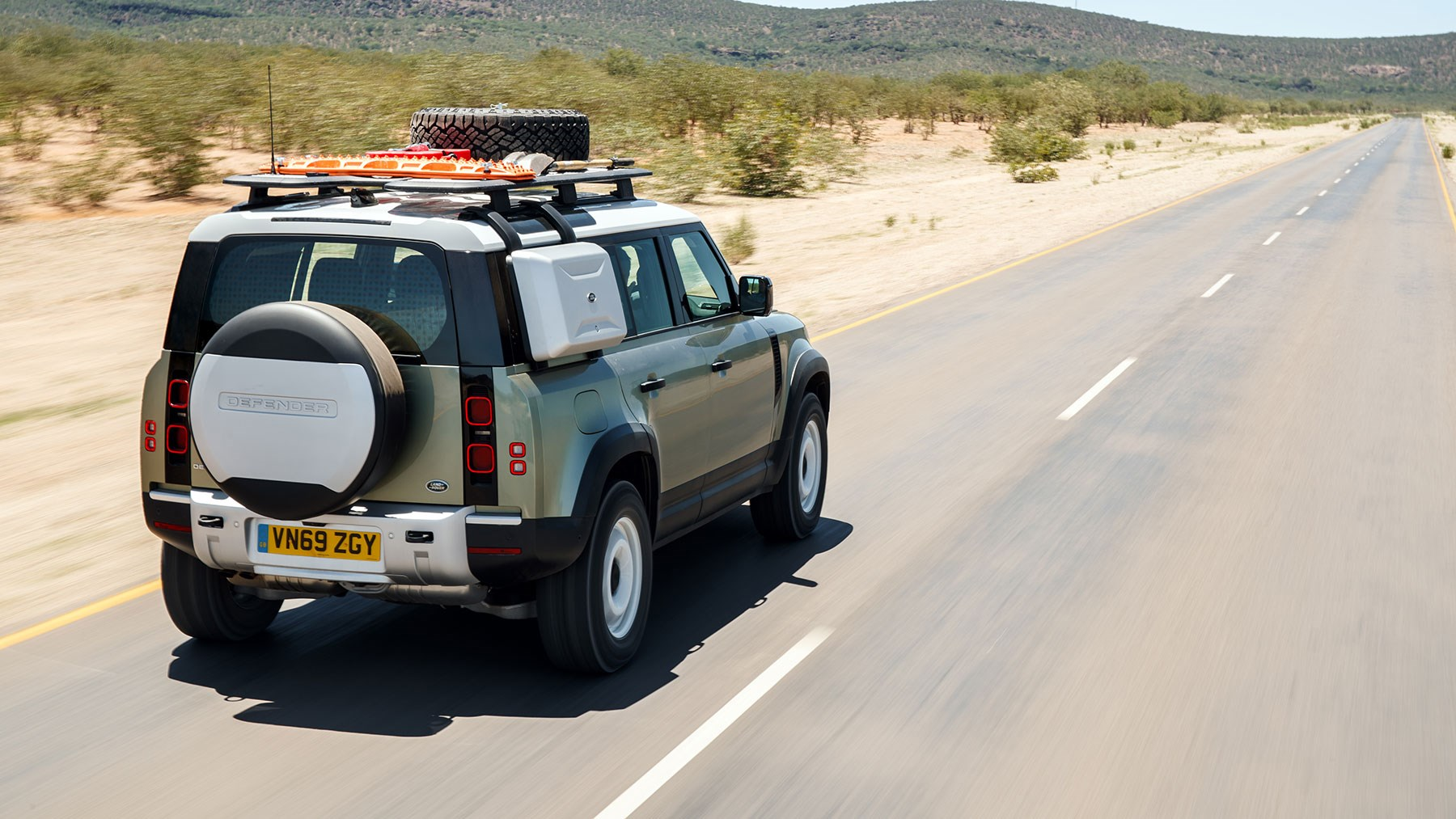 Land Rover (2020) driven in Namibia