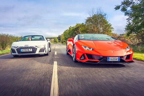 R8 Huracan twin tracking
