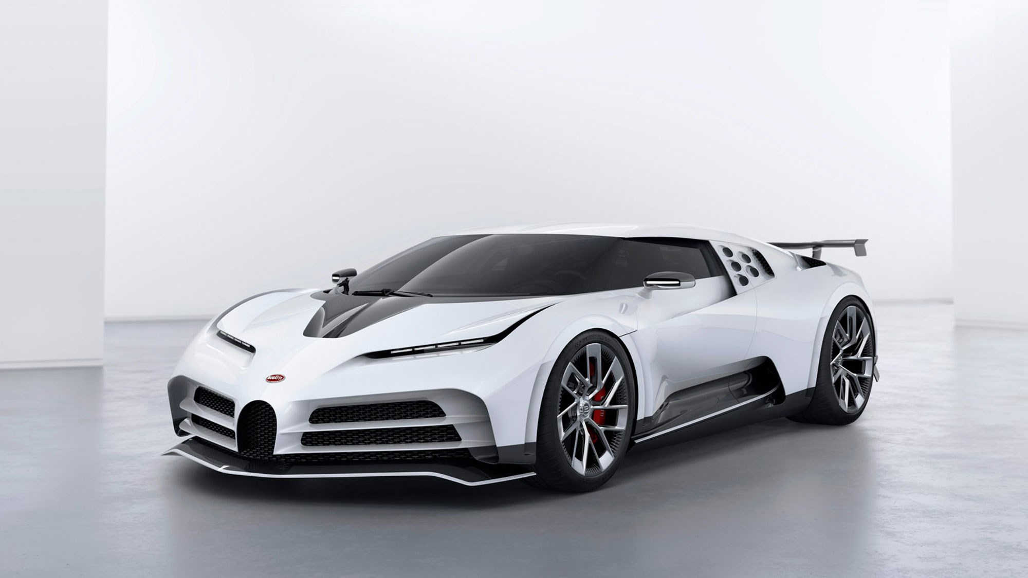 Bugatti Centodieci Debuts as Incredible Modern Take on EB110