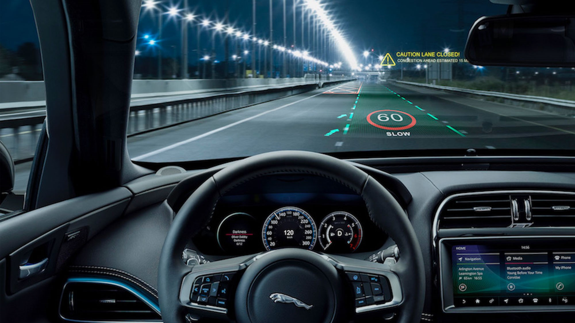 Next-gen JLR 3D head-up display could improve driver reaction times