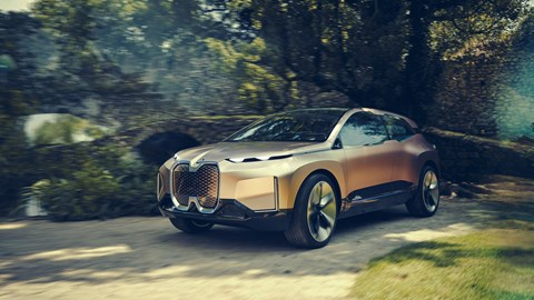BMW iNext: a concept car look at the future electric SUV