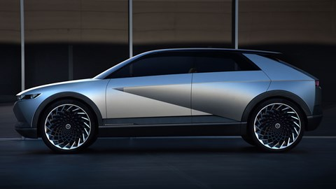 2019 Hyundai 45 Concept, side profile