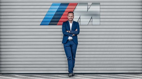 Markus Flasch guards the gates to BMW M Division