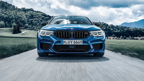 BMW M5 Competition: cutting-edge current M Division