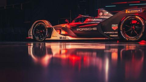 99X Electric Formula E race car