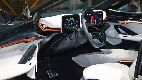 Cupra Tavascan at Frankfurt motor show 2019 - interior