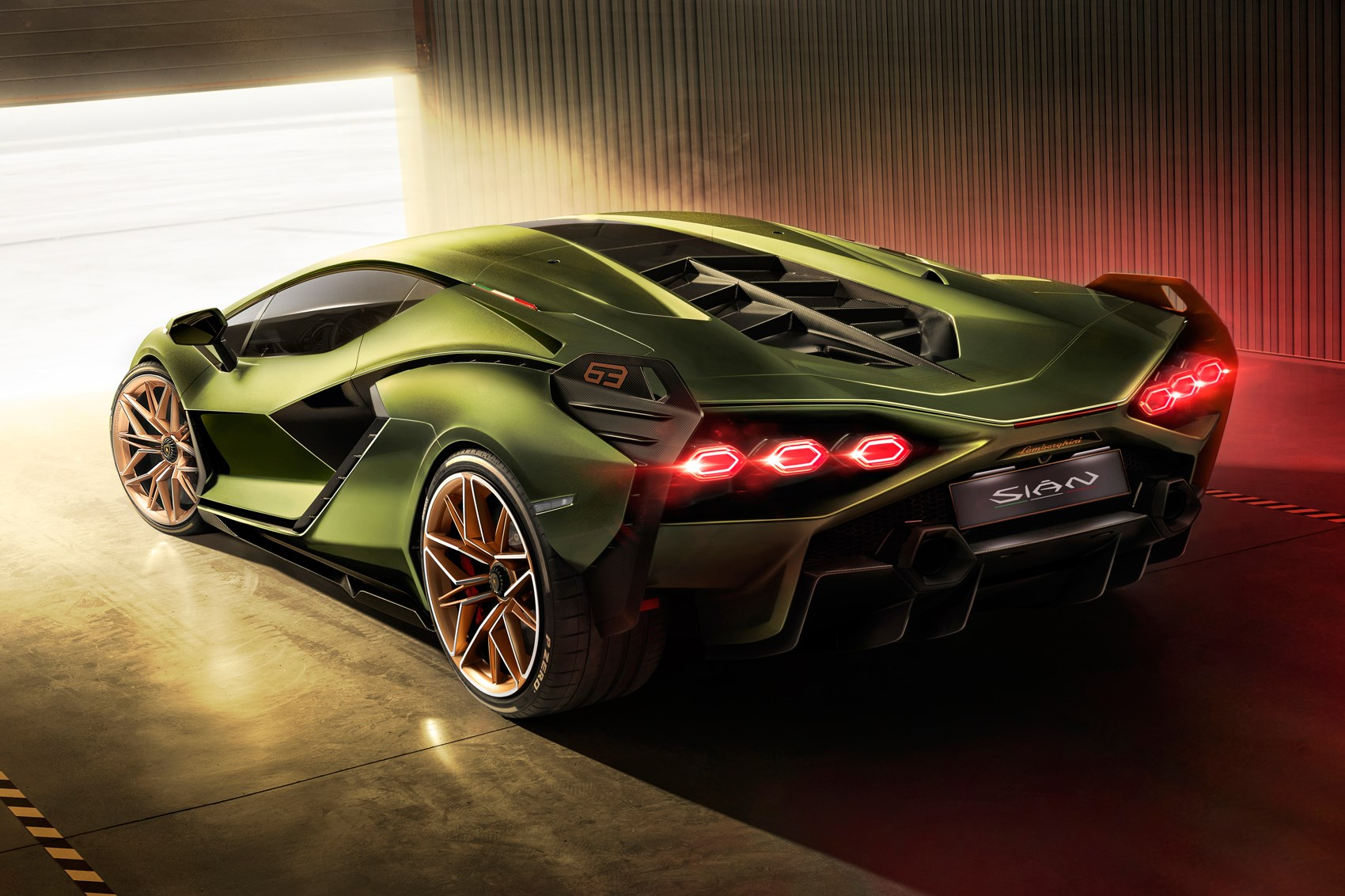 New Lamborghini Sian First hybrid Lambo revealed at