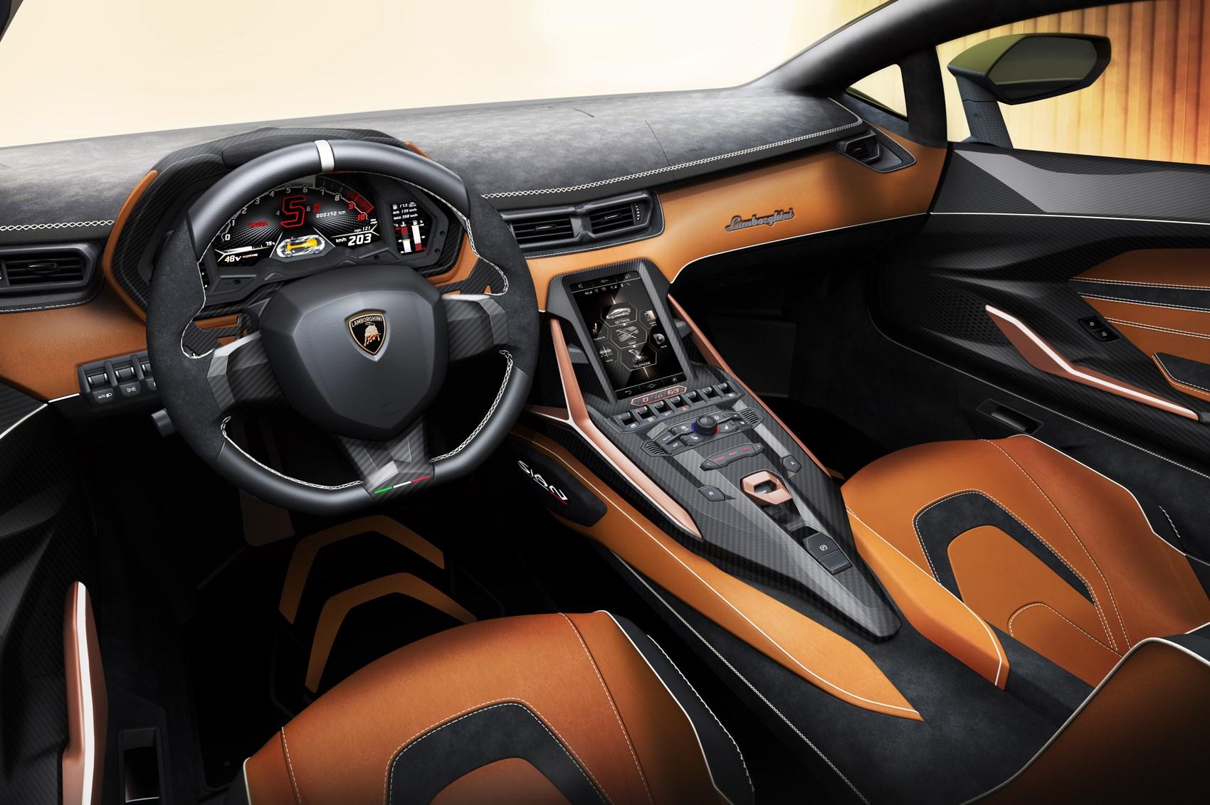 Lamborghini Sian hybrid sportscar makes global debut