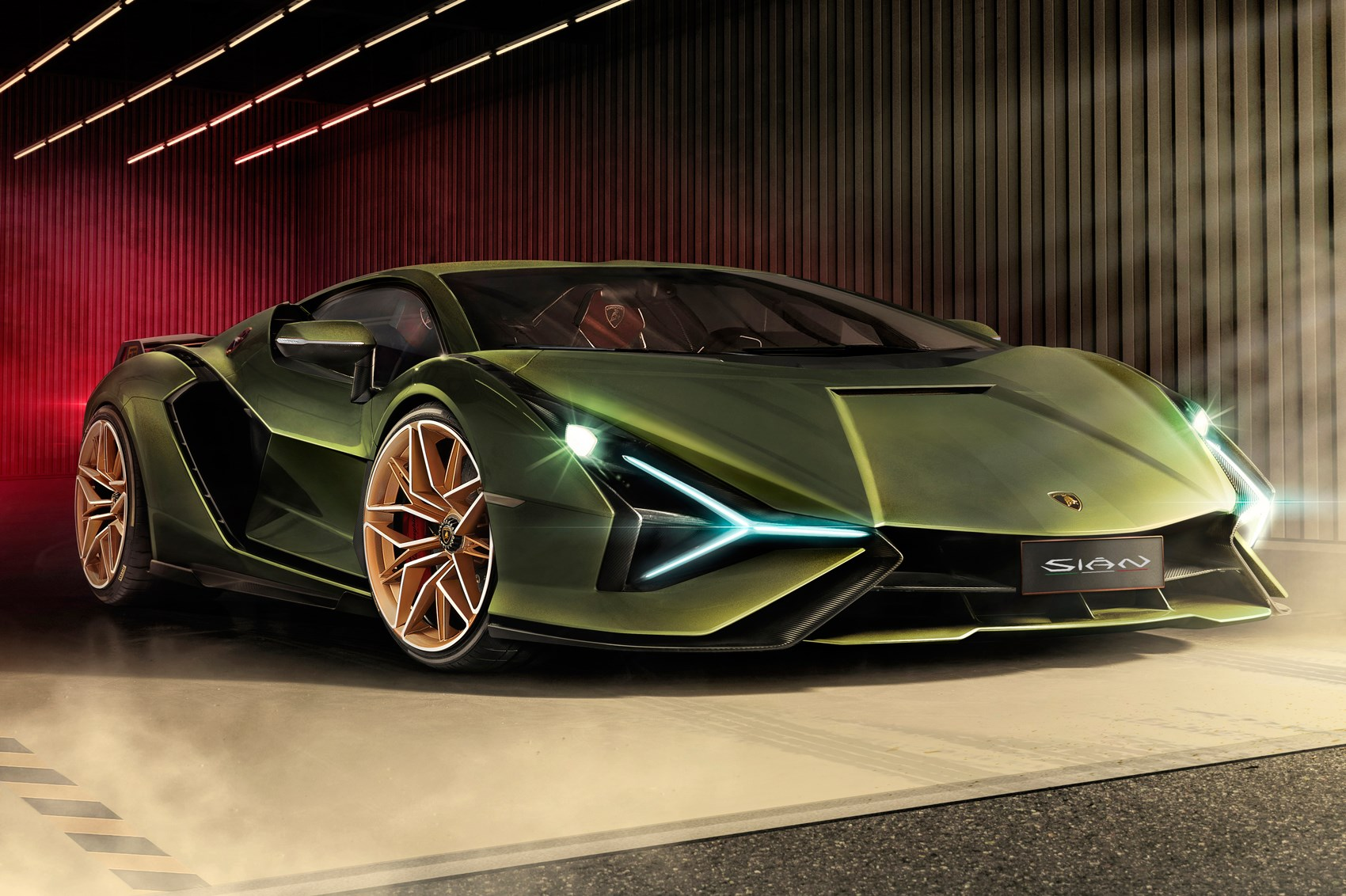 New Lamborghini Sian First Hybrid Lambo Revealed At