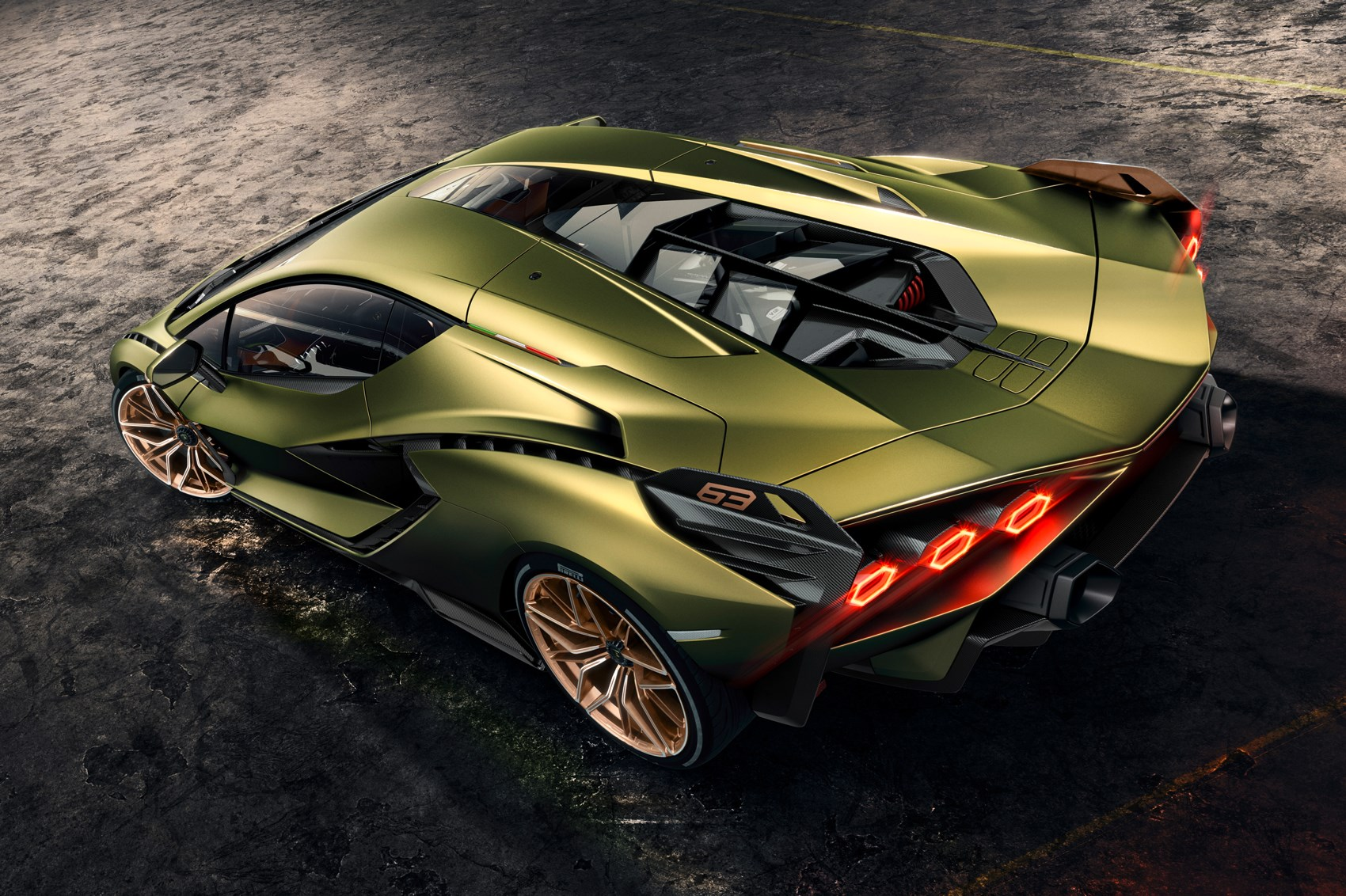 New Lamborghini Sian: First hybrid Lambo revealed at