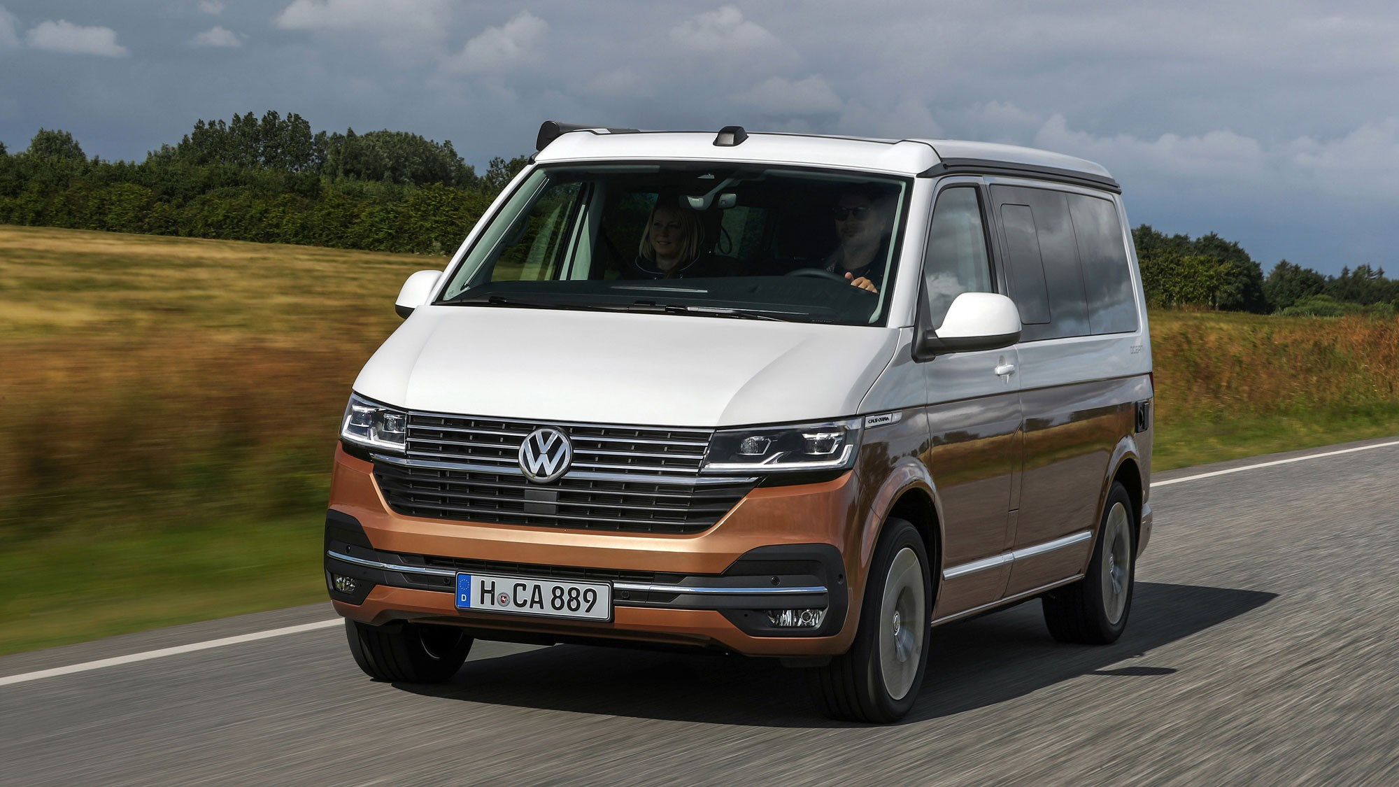 Volkswagen California T6.1 revealed – posh camper gets ...