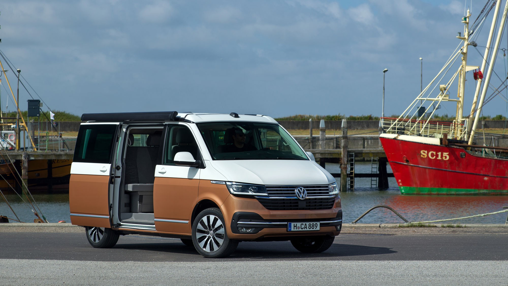 Volkswagen California T6 1 revealed – posh camper gets even