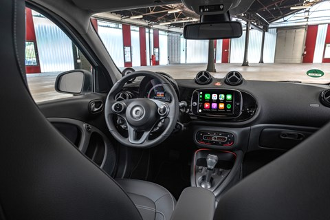 Smart 2019 interior
