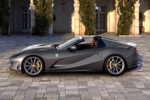 Ferrari 812 GTS side
