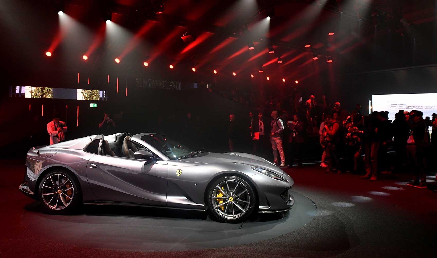 Ferrari 812 Gts Drop Top V12 Unveiled Car Magazine