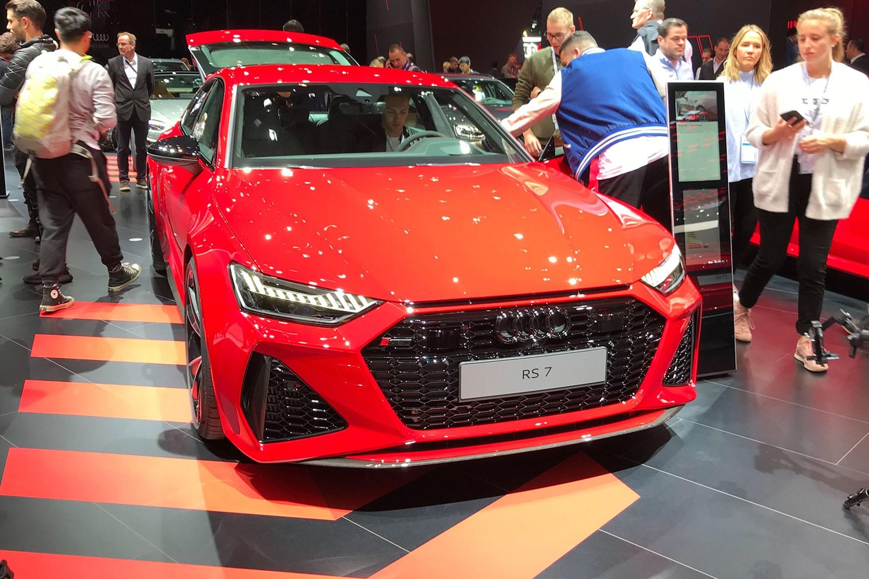 New Audi Rs7 Sportback Goes Superpowered At Frankfurt 2019 Car Magazine
