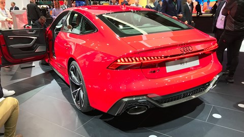 Audi RS7 Sportback at Frankfurt motor show 2019 - rear view