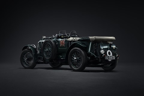 Sir Tim Birkin's famous 4½-litre Team Blower is remade by Mulliner