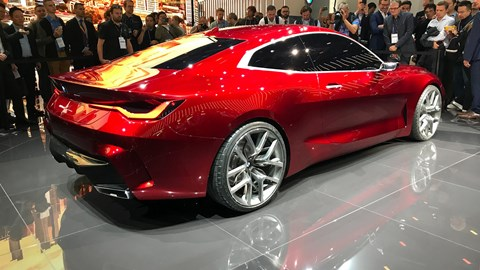 BMW Concept 4 at the Frankfurt motor show 2019 - rear view