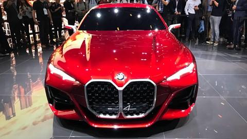 BMW Concept 4 at the Frankfurt motor show 2019 - kidney grille
