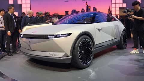 Hyundai 45 concept - a HIT at the Frankfurt motor show 2019