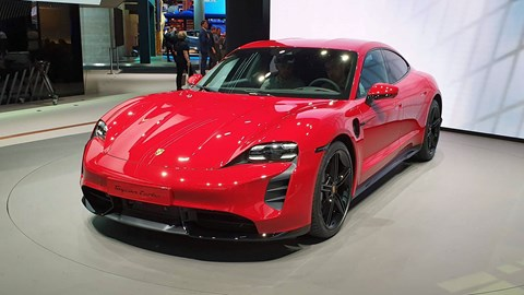Porsche Taycan - a HIT at the Frankfurt motor show 2019
