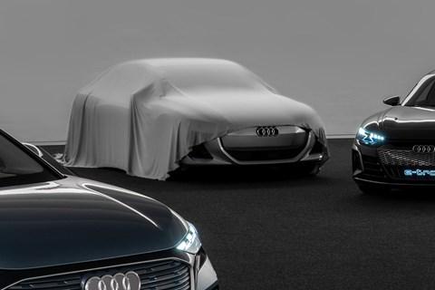 Audi PPE design study teaser