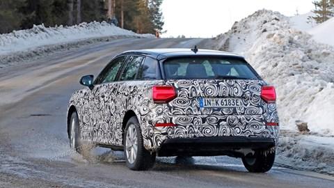 Audi Q2 spy shot