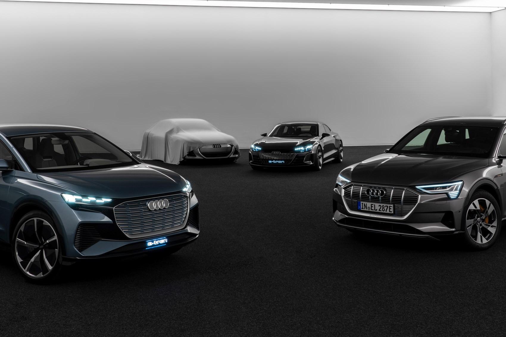 Audi electric cars: EV plans explained, new car teased