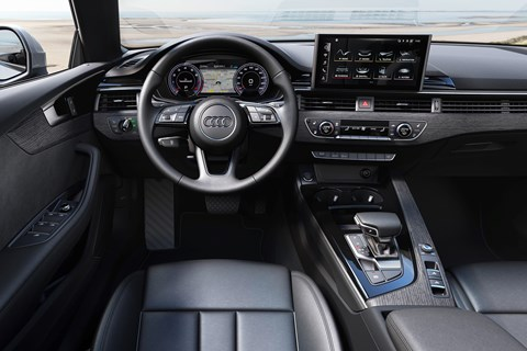 2019 Audi A5 facelift, interior