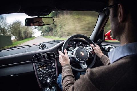 Porsche 997 interior
