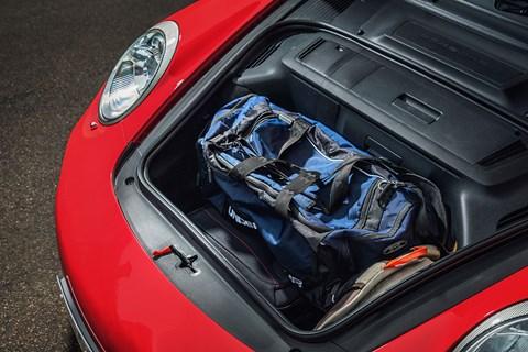 Porsche 997 boot space