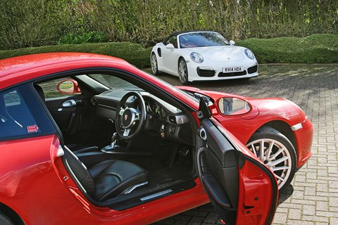 Our used 997 meets a brand-new 991