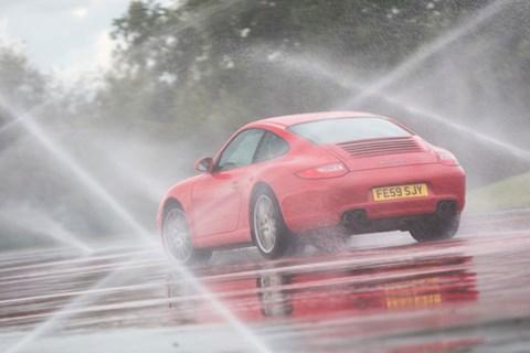 CAR's 911 at Porsche's Silverstone Experience Centre