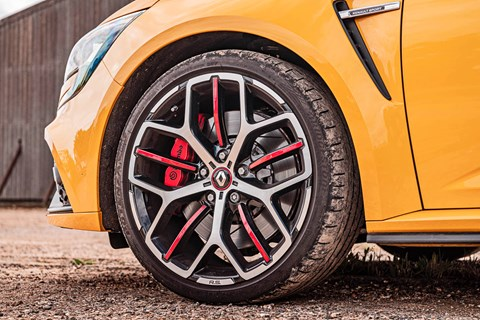 Megane RS front wheel