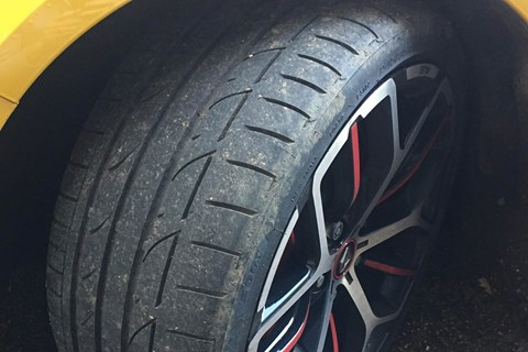 Megane RS tyre
