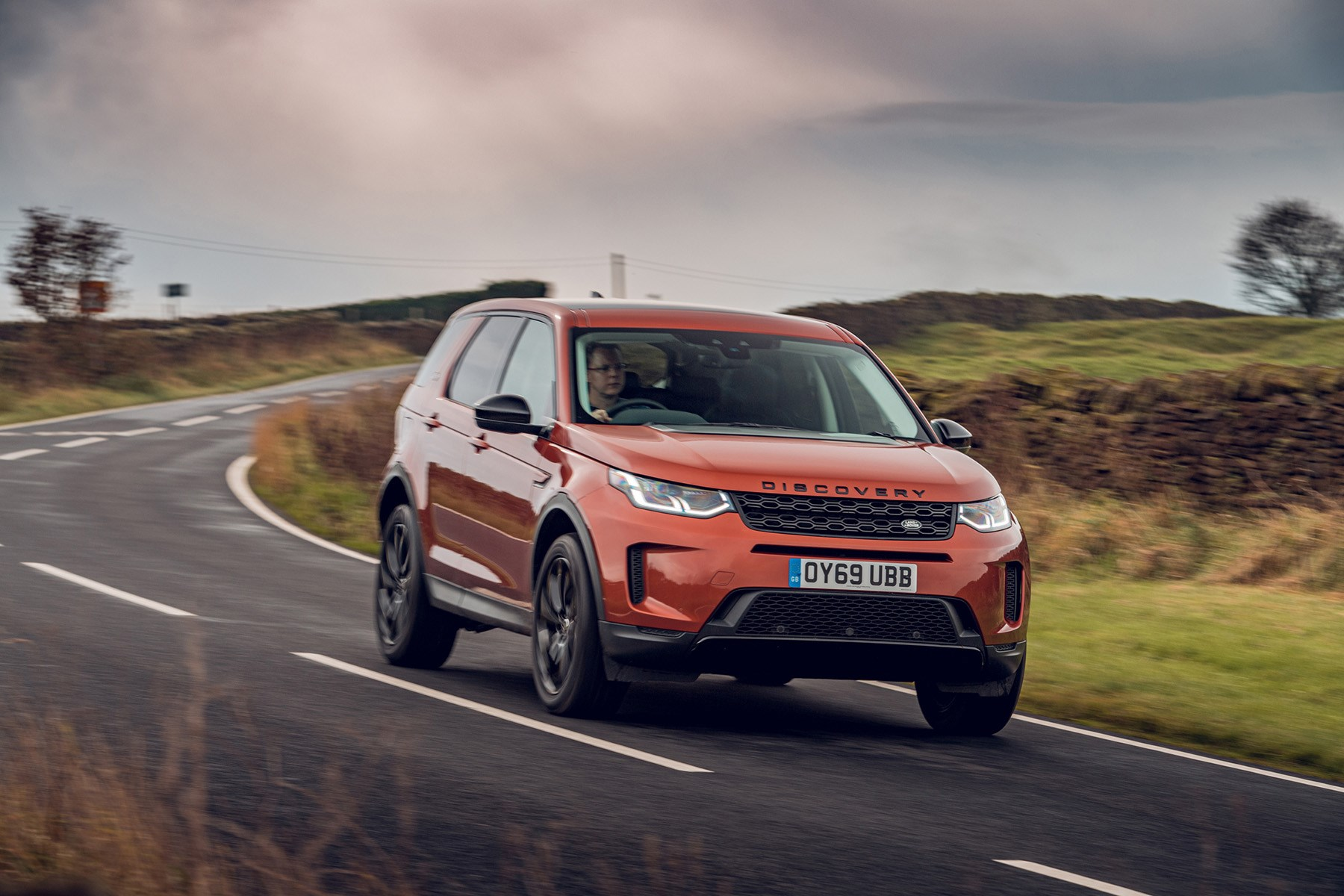 2019 Land Rover Discovery Sport handling