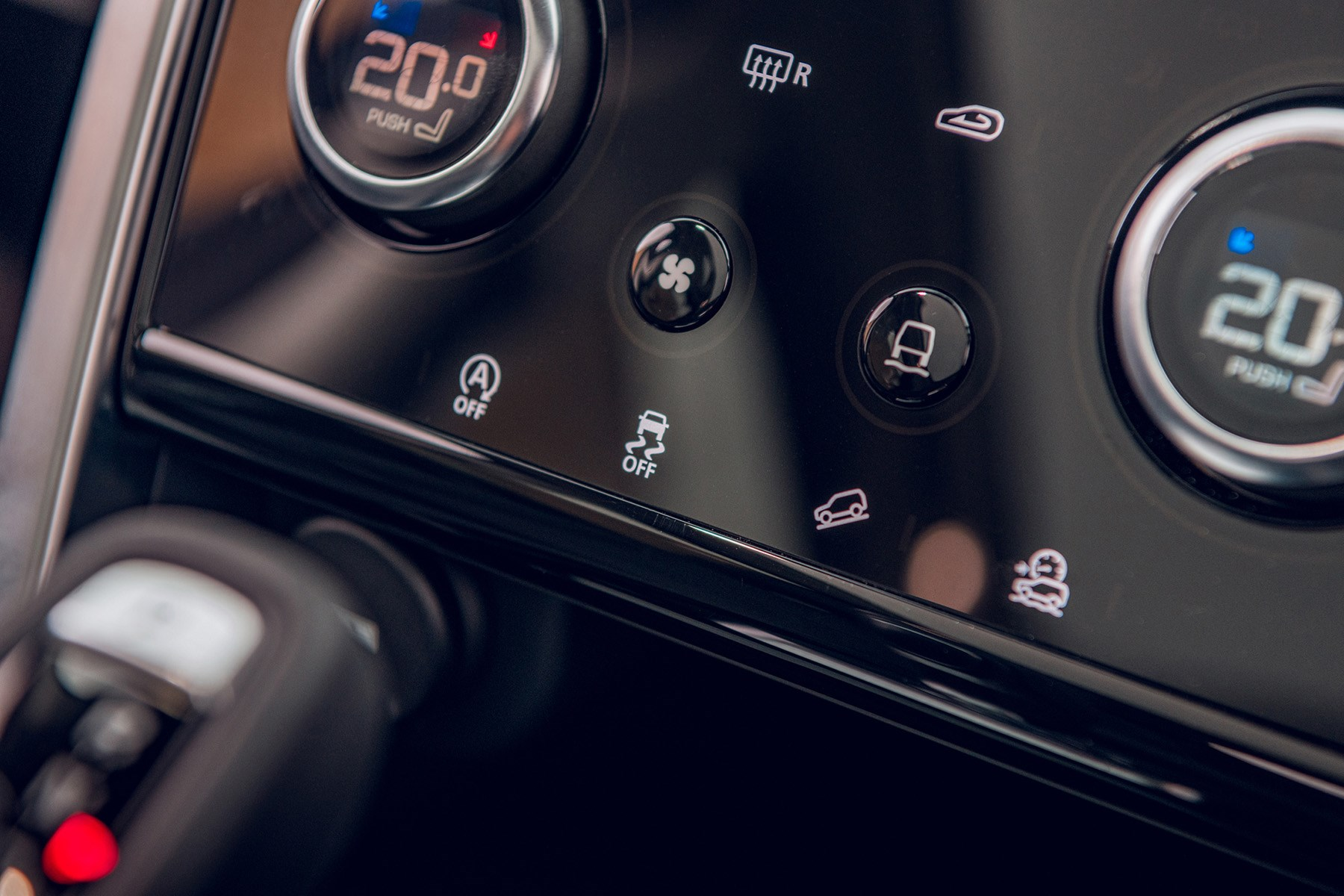 2019 Land Rover Discovery Sport controls