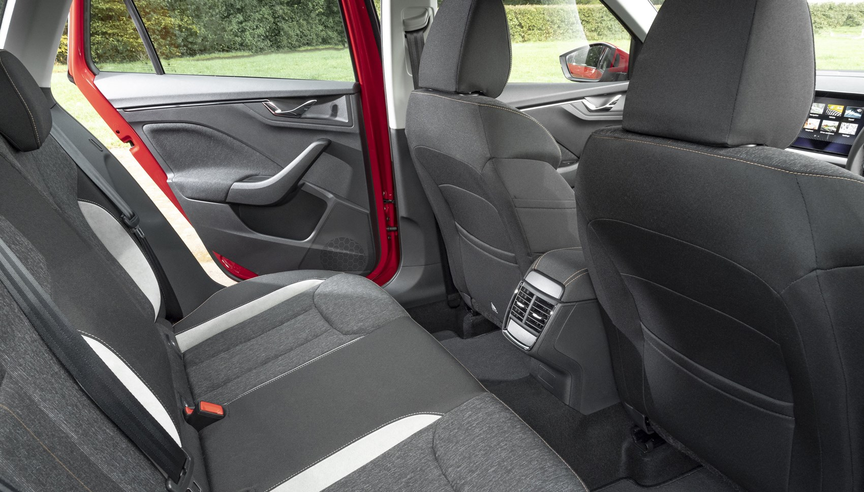 Skoda Kamiq rear seats