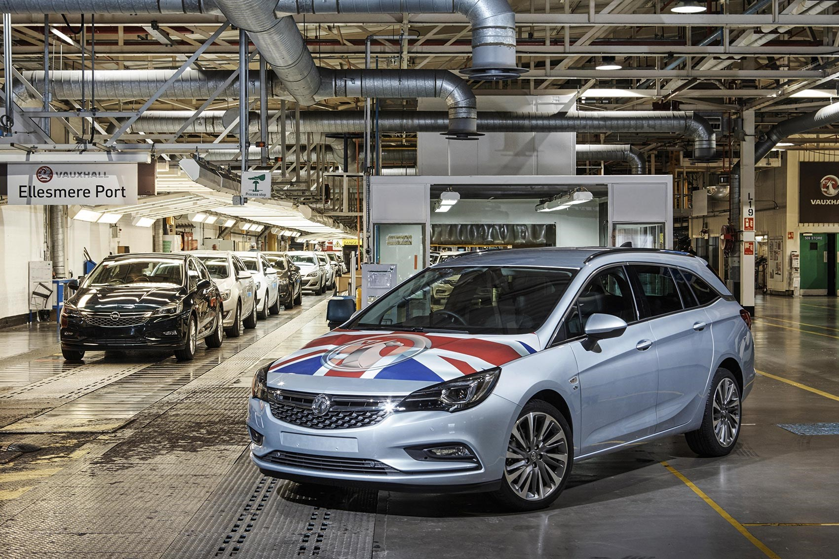 Vauxhall warns of dire consequences in event of no-deal Brexit