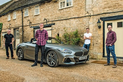 You drive our BMW Z4