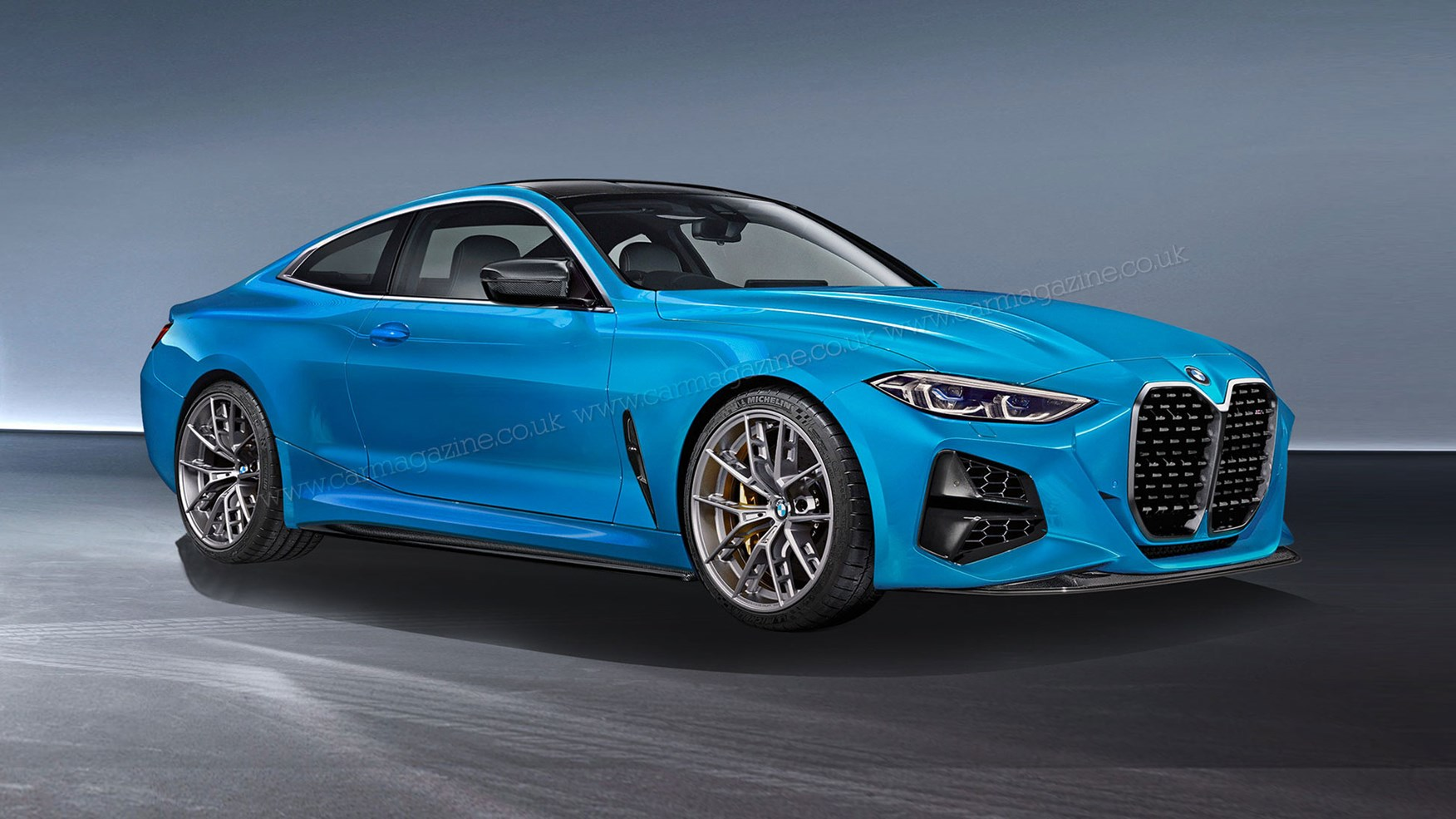 new 2021 bmw m4 coupe shown in camo  car magazine