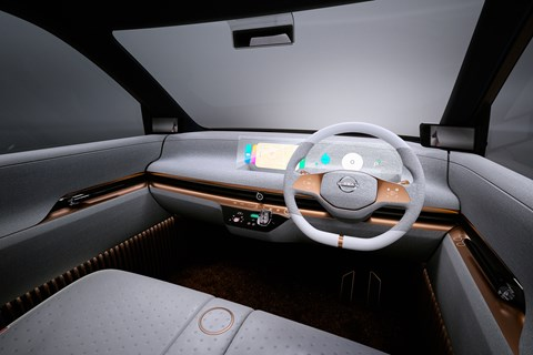 Nissan IMk interior