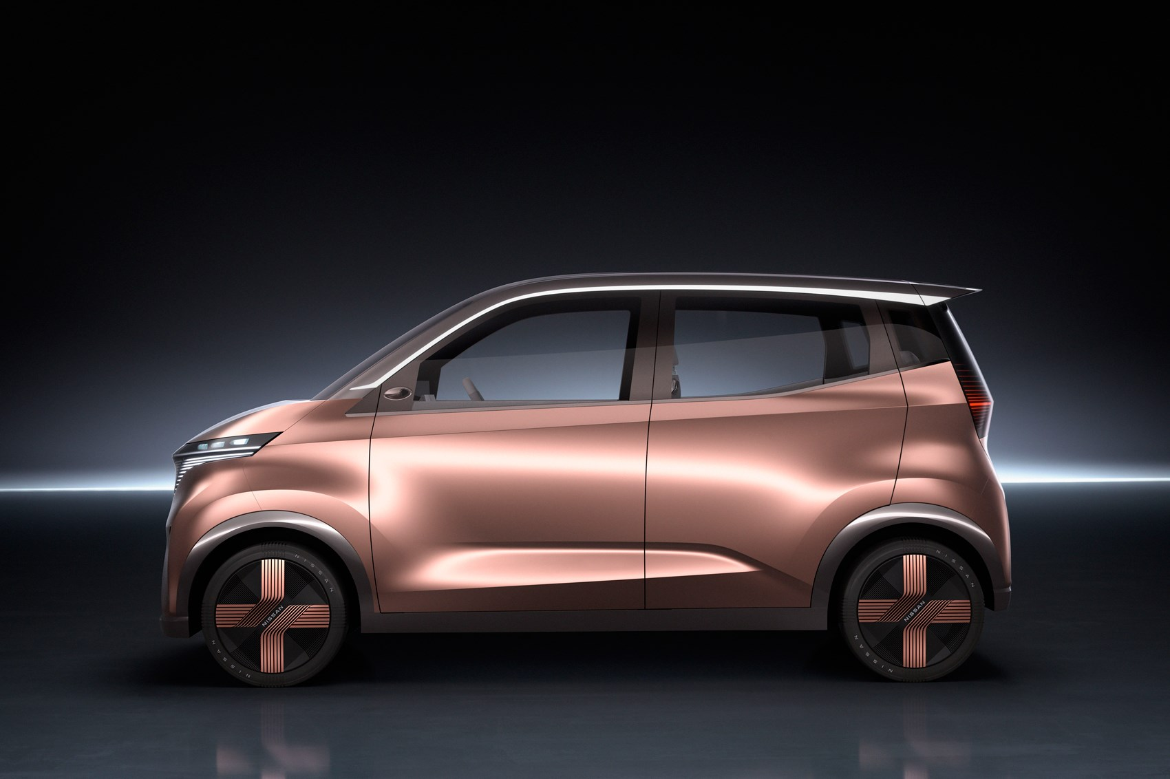 Nissan unveils IMk concept with spacious cabin