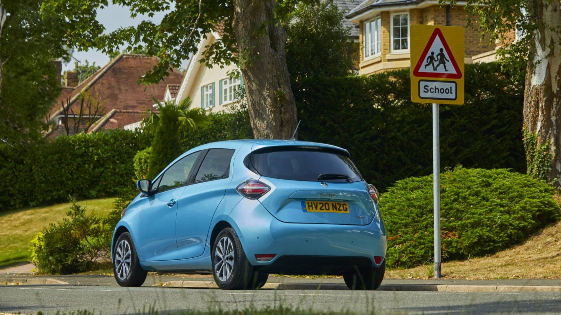 2021 Renault Zoe rear