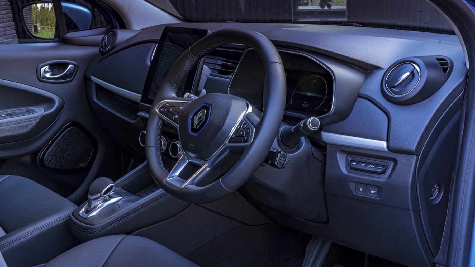 2021 Renault Zoe interior