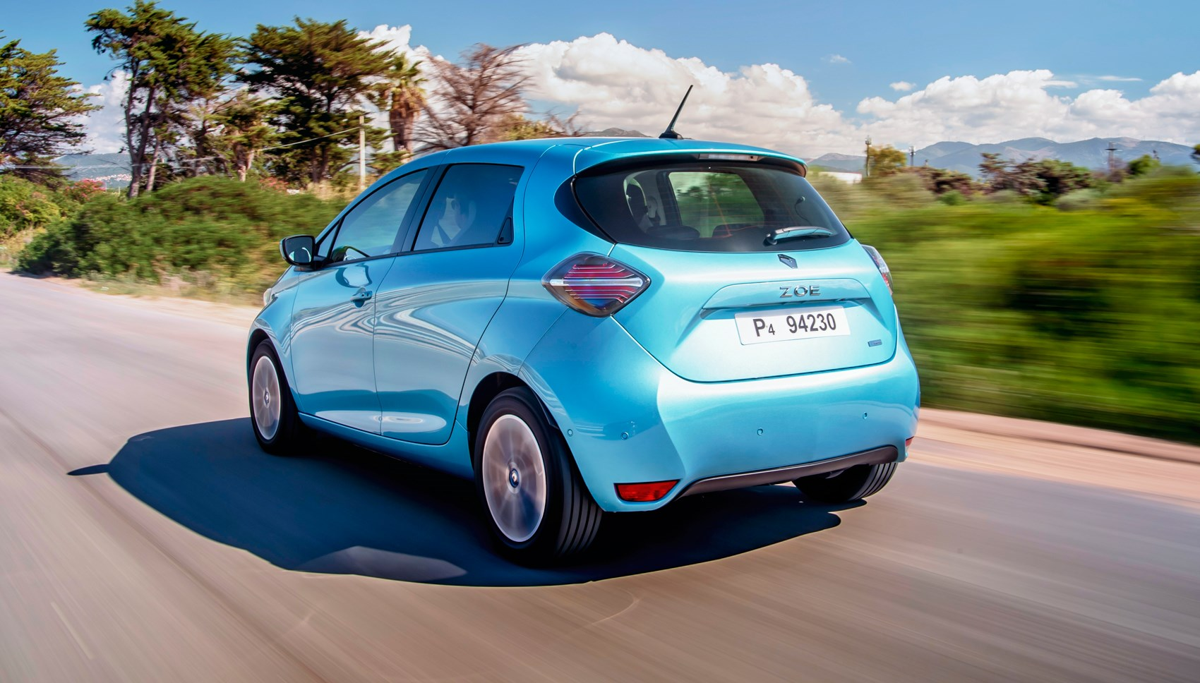 Renault Zoe rear tracking