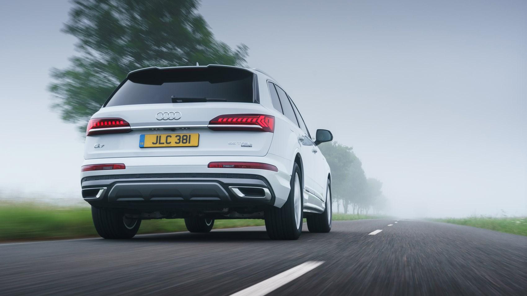 q7 hybrid rear tracking