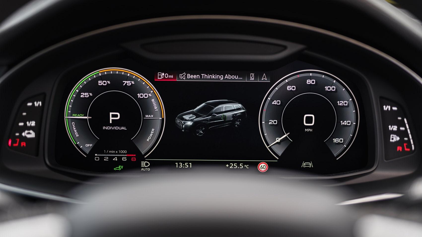 Q7 hybrid dials