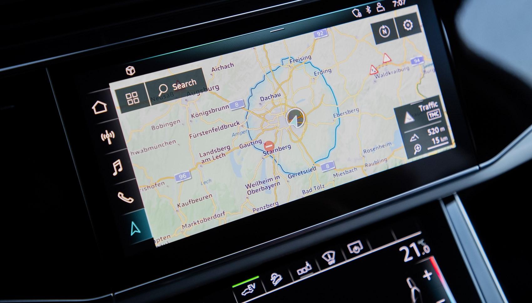 Audi Q7 hybrid map